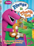 Barney Please & Thank You DVD