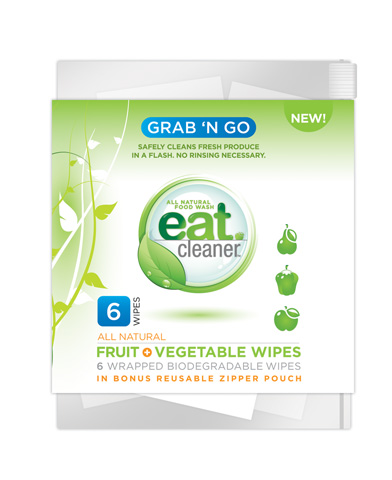 Eat Cleaner Fruit and Vegetable Wipes