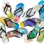 Giveaway – Eco Art Productions Flip Flops – 5 Winners – Ends 7/13/10