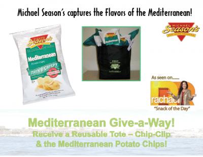 Giveaway – Michael Season's Mediterranean Snacks Gift Bag – Ends 7/24/10