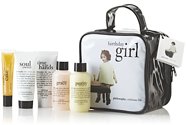 The Birthday Girl Gift Set From Philosophy