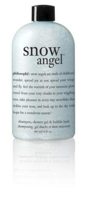 Giveaway – Philosophy Snow Angel Shampoo, Shower Gel & Bubble Bath – Ends 11/6/10