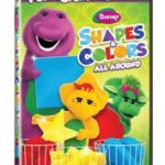 Giveaway – Barney: Shapes & Colors All Around DVD – 2 Winners – Ends 2/14/11