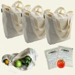 Giveaway – Reuseit Hemp Shopping Bag Set – Ends 5/13/11