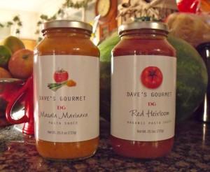 Giveaway – Dave's Gourmet Pasta Sauce – Ends 6/5/11