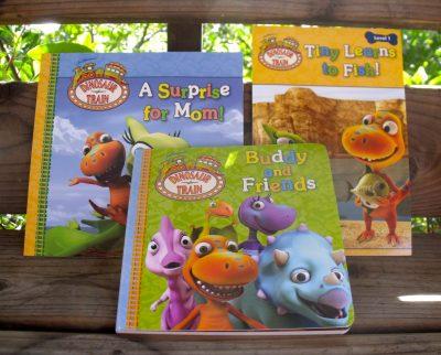 Review – Dinosaur Train Books