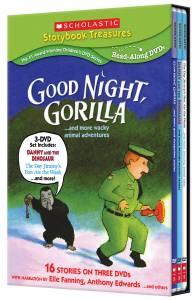 Giveaway – Scholastic Good Night, Gorilla DVD Box Set – Ends 7/9/11