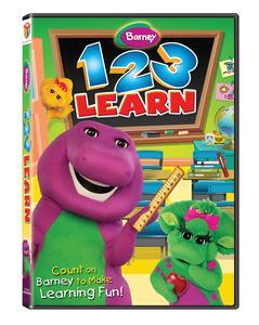 Giveaway – Barney: 1 2 3 Learn DVD – 2 Winners – Ends 7/12/11