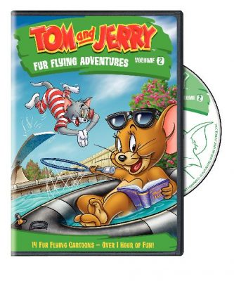 Giveaway – Tom and Jerry Fur Flying Adventures DVD – Ends 7/20/11