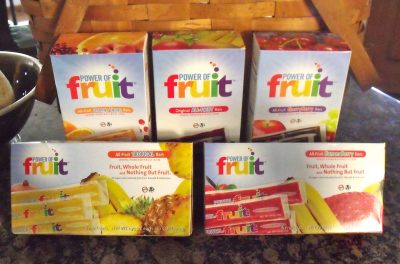 Giveaway – Power of Fruit Frozen Fruit Bars – Ends 9/23/11