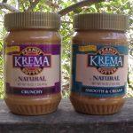 Giveaway – Krema Natural Peanut Butter – 2 Winners – Ends 10/8/11