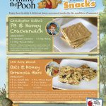 Winnie the Pooh Honey Snacks Recipes