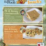 Winnie the Pooh Honey Snacks Recipes