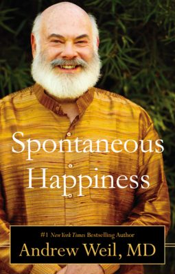 Giveaway – Spontaneous Happiness by Andrew Weil – 3 Winners – Ends 12/13/11