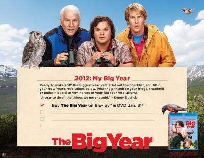 The Big Year Checklist