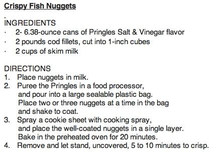 crispy fish nuggets recipe - *_*Cooking Cuisine comp march 2013_*_*