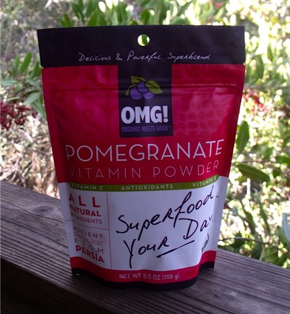 Organic Meets Good Pomegranate