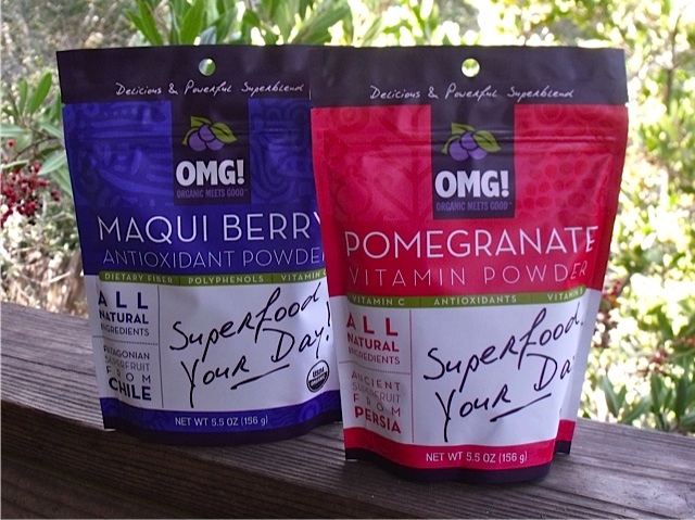Organic Meets Good Maqui and Pomegranate