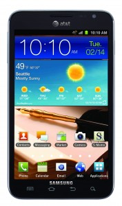 Giveaway – Samsung Galaxy Note Smartphone- Ends 7/4/12