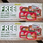 Giveaway – Hillshire Farm Free Product Coupons – 4 Winners – Ends 6/18/12