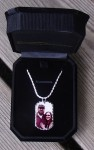 Sterling Silver Photo Engraved Dog Tag