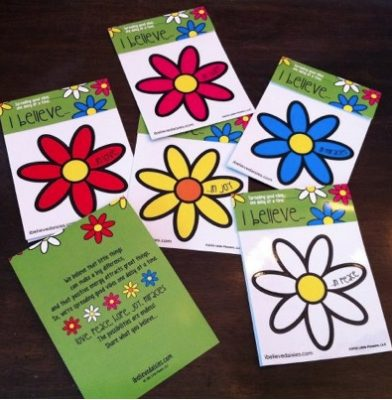 Giveaway – I believe Daisies Decal – Ends 6/28/12