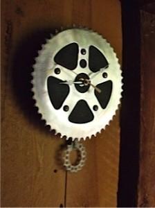 Uncommon Goods Bicycle Clock