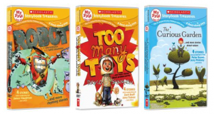 Rafflecopter Giveaway – Scholastic Storybook Treasures 3 DVD Set – 2 Winners – Ends 10/29/12
