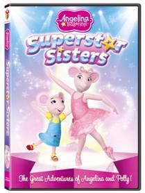 Giveaway – Angelina Ballerina Superstar Sisters DVD – 2 Winners – End 11/26/12