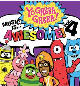 Rafflecopter Giveaway – Yo Gabba Gabba Music is Awesome CD – 4 Winners – Ends 12/8/12