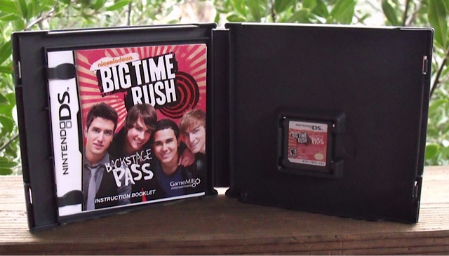 Big Time Rush Backstage Pass for Nintendo DS