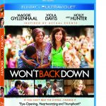 Giveaway – Won't Back Down Blu-ray Combo Pack – Ends 1/21/13