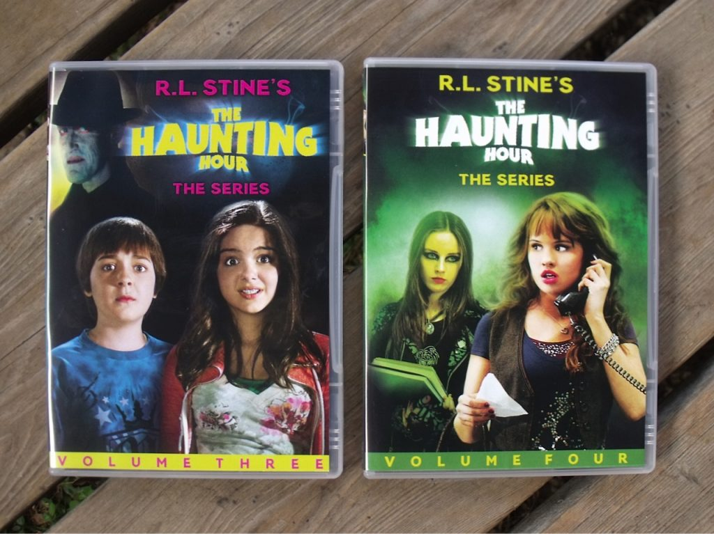 Volumes of r l stine s the haunting hour are now available on dvd