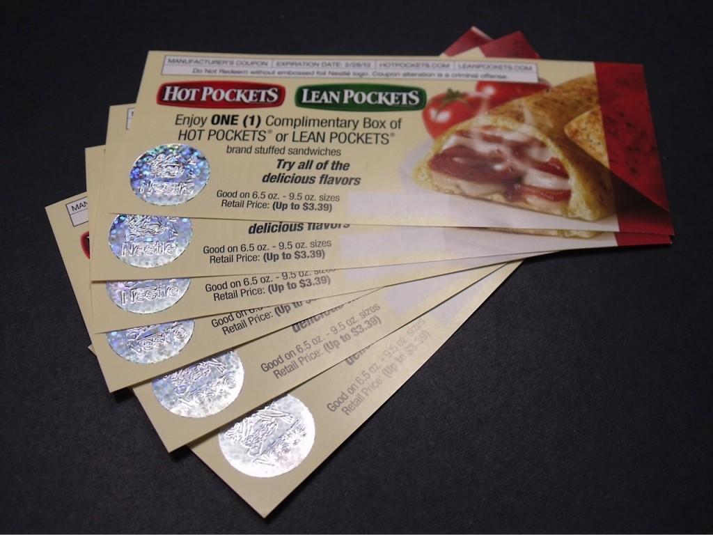 Hot Pockets coupons