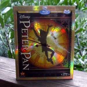 Peter Pan Diamond Edition Blu-ray DVD Combo Pack