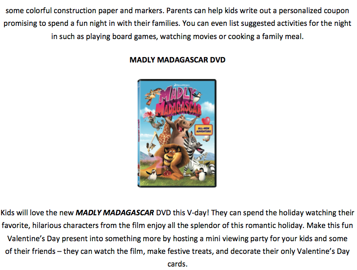 Giveaway Madly Madagascar Dvd Ends 2 5 13 Likes This - Www