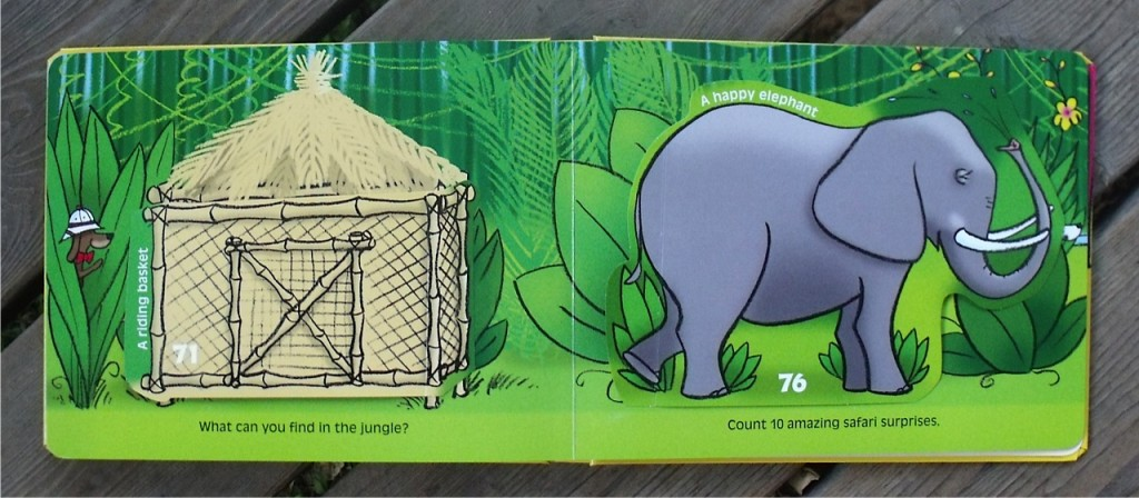 100 flap book