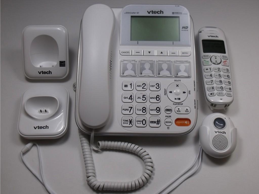 vtech CareLine phone system