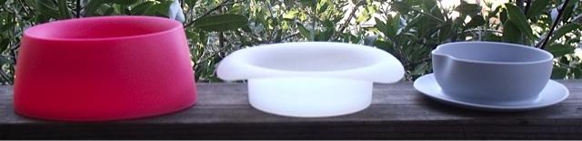 3 piece travel bowl set