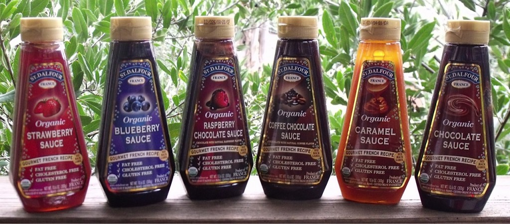 organic dessert sauces