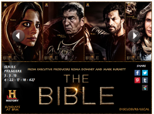 The Bible Miniseries – $15 Walmart Gift Card Giveaway – Ends 3/13/13