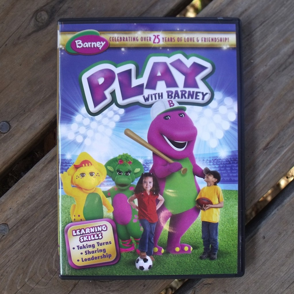 Play With Barney DVD