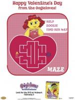 Oogieloves Valentine's Day Maze