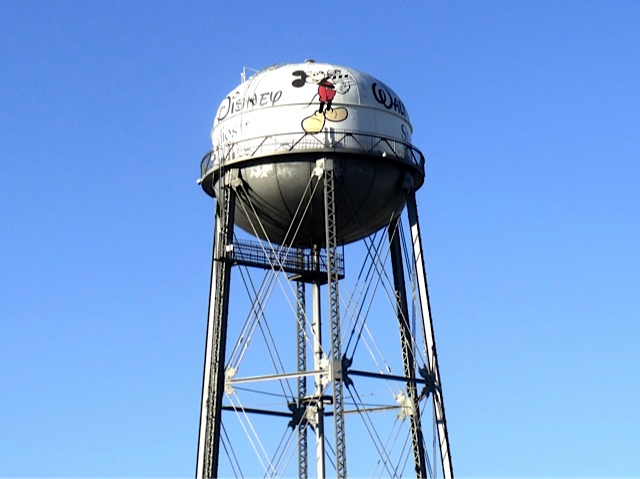 Walt Disney Studios Water Tower
