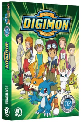 Giveaway – Digimon Adventure Set: The Complete Second Season – Ends 4/8/13