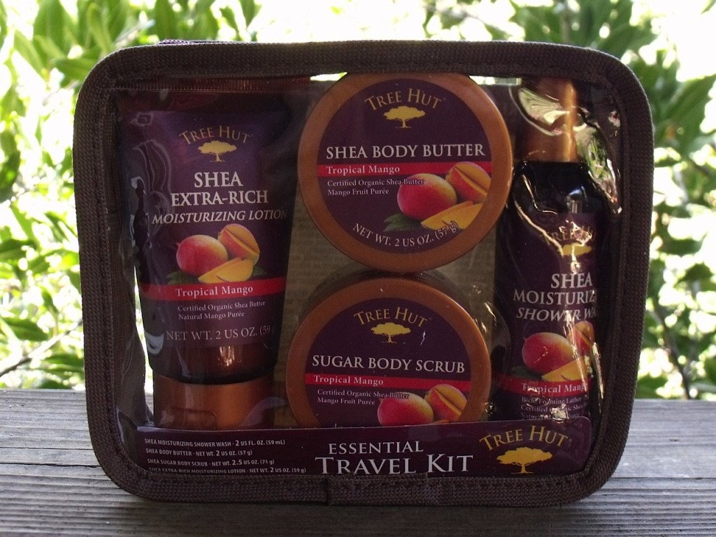 Tree Hut Mango Bath Kit