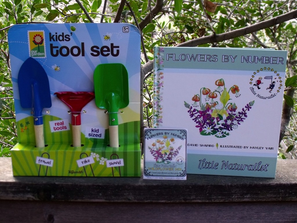 Flower Garden Book, Seeds and Tools