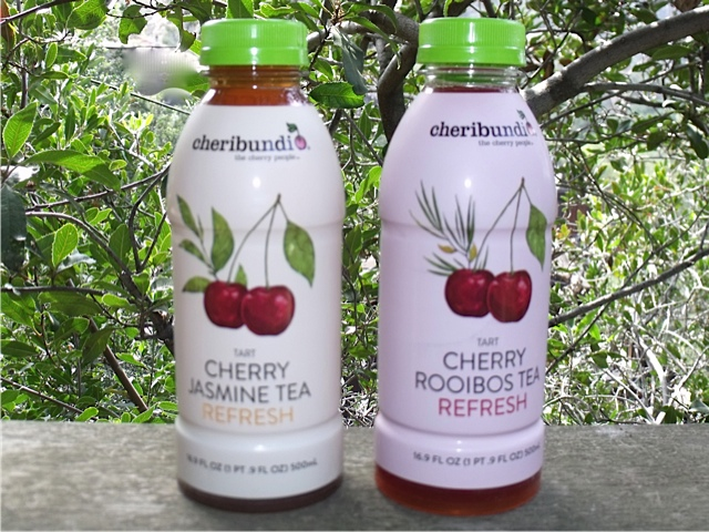 Cherry Jasmine Tea and Cherry Rooibos Tea