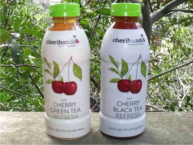 Cherry Green Tea and Cherry Black Tea