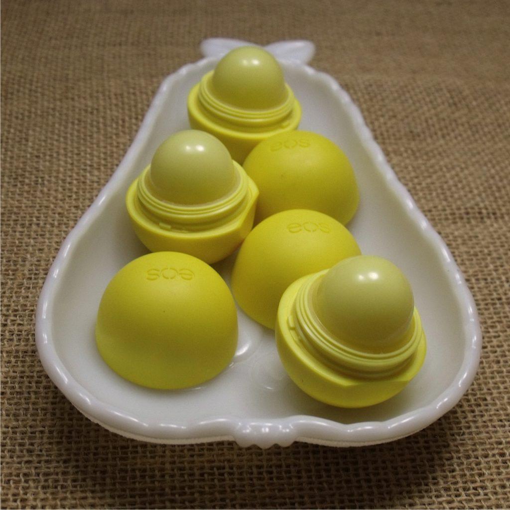 lemon drop lip balm White Eos Lip Balm
